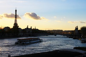 Paris Sunset,France