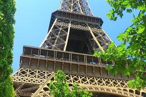 Eiffel Tower,Paris (Vertical photo)