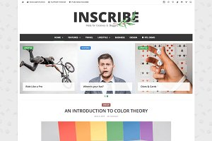 Inscribe - WordPress Blog Theme