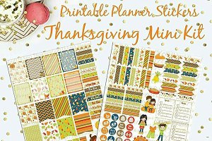 Thanksgiving November Printable Plan