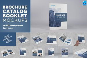 Brochure / Catalog / Booklet Mockups
