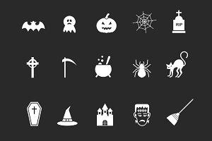 15 Spooky Halloween Icons