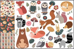 45 Woodland Designs & Patterns