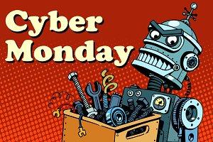 Robot Cyber Monday gadget