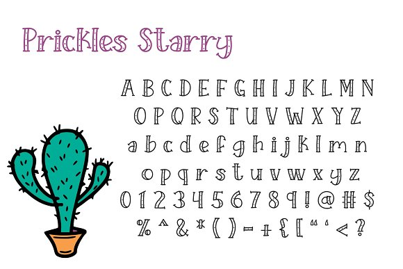Prickles Complete Collection in Serif Fonts - product preview 6