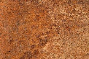 Closeup of Rusty Steel