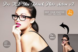 Pro HD Skin Retouch Photo Action v.2