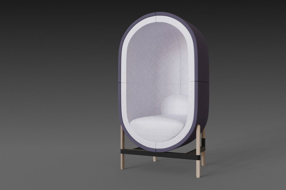Capsule chair sofa