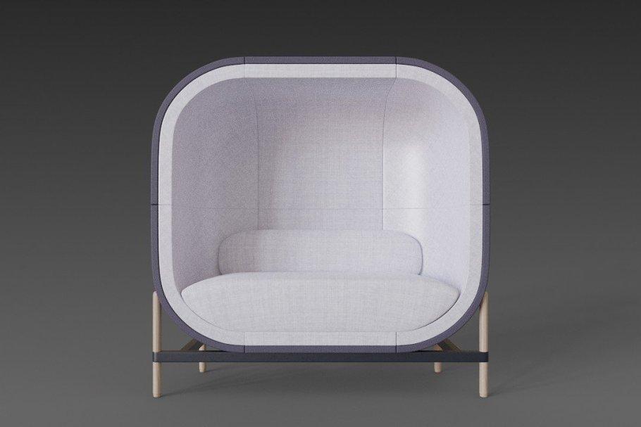 Big capsule chair sofa