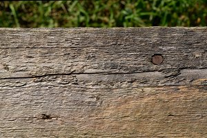 Closeup of Weather Worn Wood