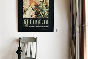 Rustic Beach Home & Australia Art