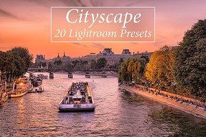 20 Cityscape Lr Presets