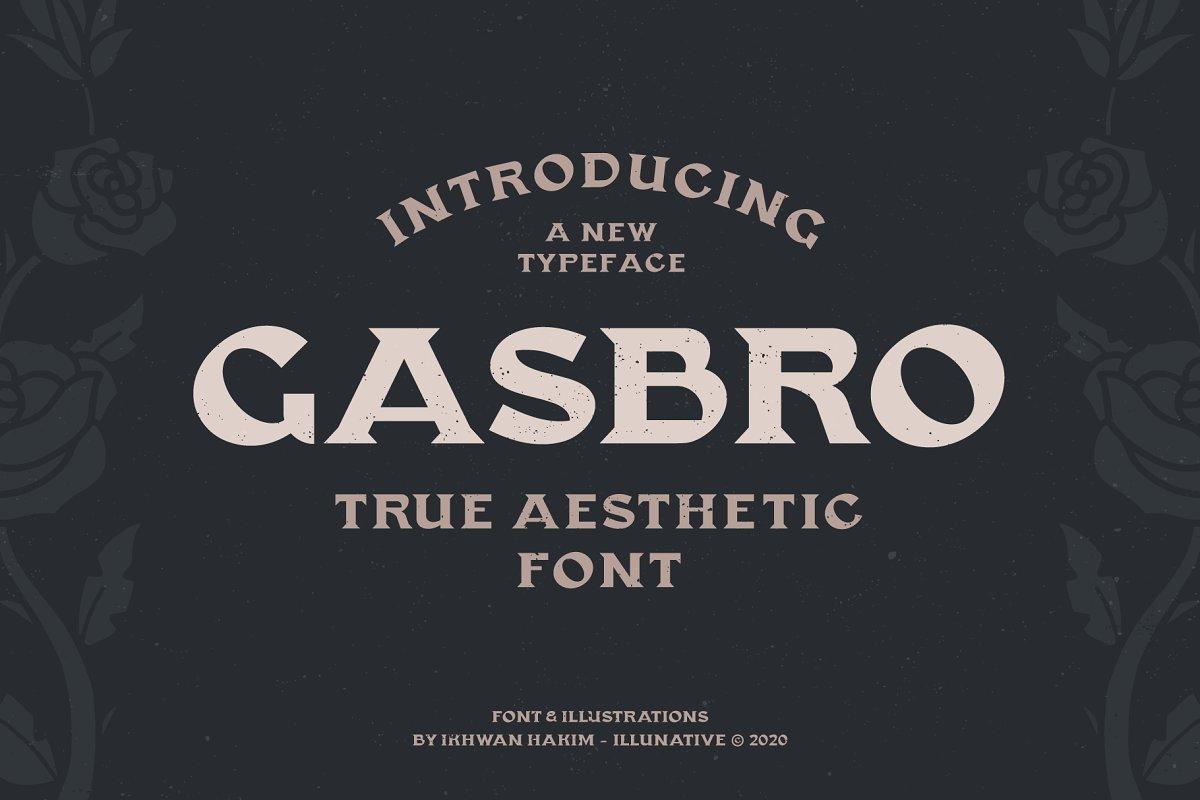Gasbro Family Font