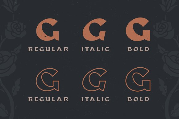 Gasbro Family Font in Serif Fonts - product preview 2