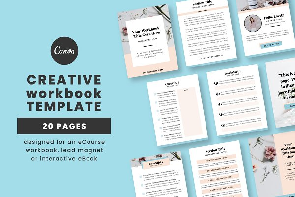 Creative Workbook for Canva