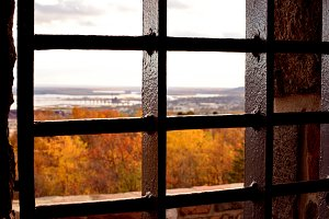 Iron Bars of Enger Tower