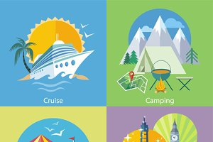 Traveling Tour, Cruise Ship Camping
