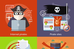 Hacker attaks, Internet Pirates