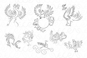 Phoenix Ornamental Freestyle Linear