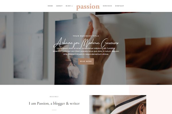 Passion Divi Child Theme Coaching