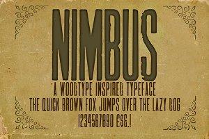 Nimbus Condensed Woodblock Font