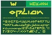 direction font