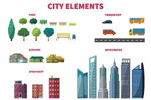 Flat City Elements