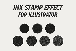 Ink Stamp Effect