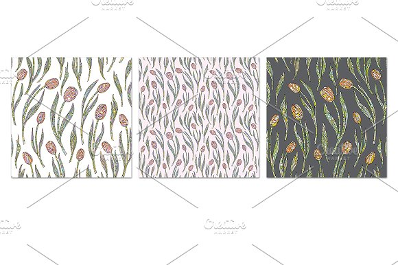 Tulips collection in Patterns - product preview 1