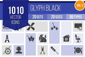 1010 Glyph Icons (V3)