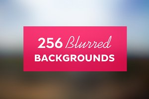 256 Blurred Image Background Pack