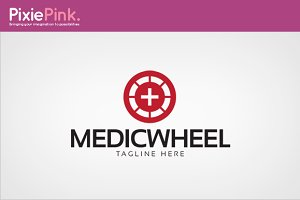 Medic Wheel Logo Template