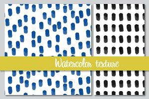 Vector watercolor textures