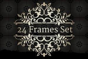 24 Frames Set