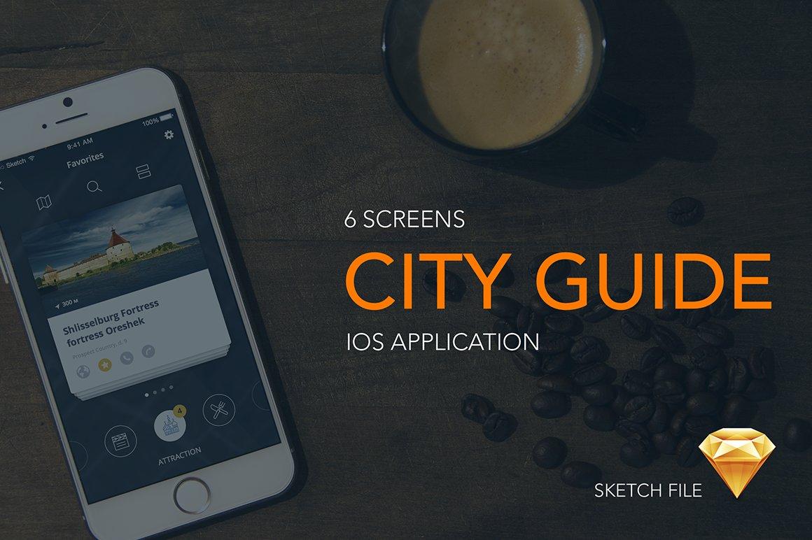 City guide/Travel - iOS App Template ~ Templates ~ Creative Market
