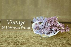 20 Vintage Lr Presets