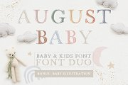 FONT DUO / AUGUSTBABY & strandliebe