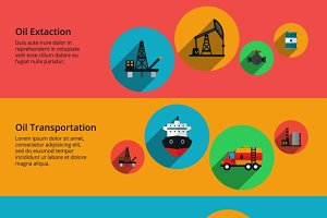 Oil production and transportation