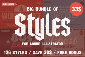 Big Bundle of Illustrator Styles