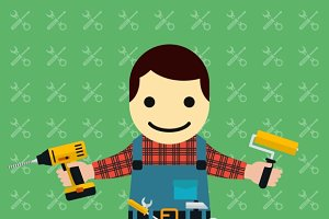 Handyman or mechanic