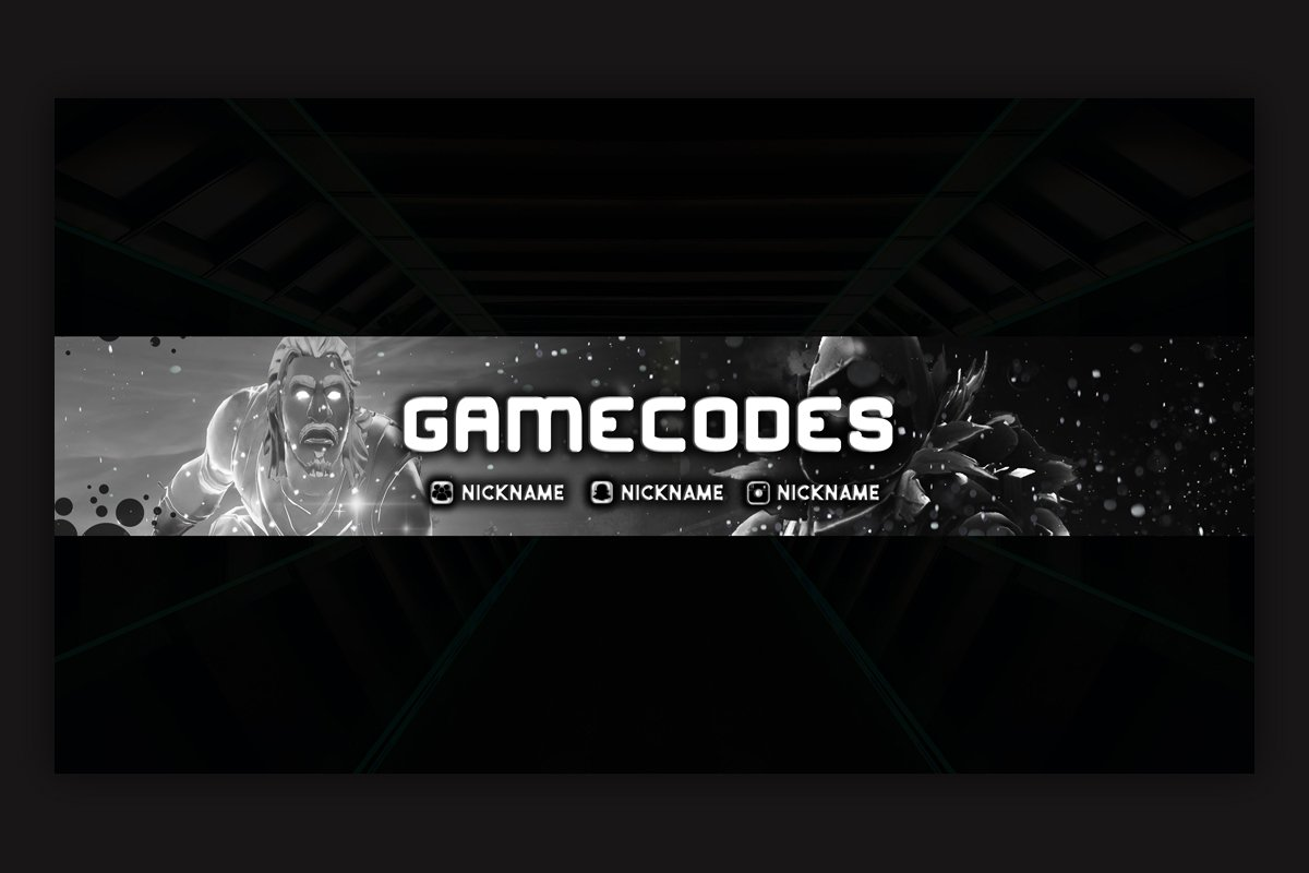 10 Gaming Youtube Banner Template Creative Youtube Templates