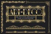 Art-Deco brushes