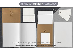 Brand stationery Mock Up