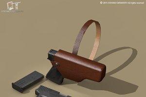 9mm handgun