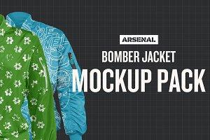 Bomber Jacket Mockup Templates
