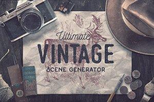 Ultimate Vintage Scene Generator