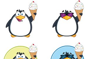 Penguin Characters Collection - 4