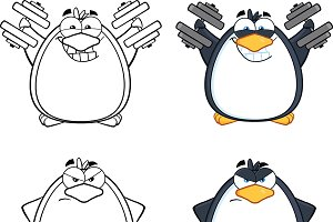 Penguin Characters Collection - 5