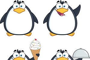Penguin Characters Collection - 6