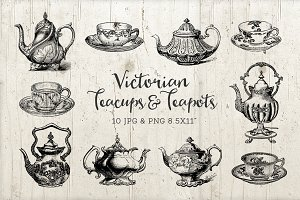 Teacups & Teapots Coffee Cups PNG
